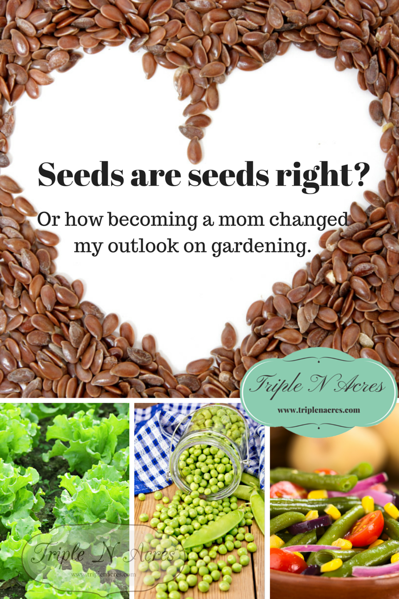 Seeds are seeds right?